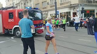Skandaliczna sytuacja w Łodzi. Strażacy nie mogli dojechać na akcją ratunkową