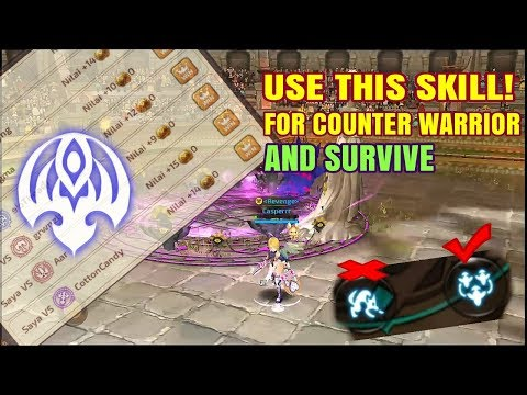 Experiment skill Screamer (Dark Summoner) on Arena Ladder PVP | Dragon Nest M SEA