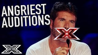 Video When Judges and Contestants ARGUE! | X Factor Global MP3, 3GP, MP4, WEBM, AVI, FLV Agustus 2019