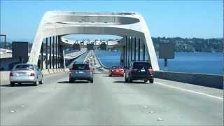 Issaquah (WA) United States  City pictures : WA, USA: I-90 (E) Seattle to Issaquah 2012.09.04