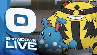 Pokemon OR/AS! OU Showdown Live w/PokeaimMD & Emvee! HELP ME by PokeaimMD