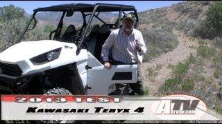 7. ATV Television - 2013 Kawasaki Teryx 4 EPS Test