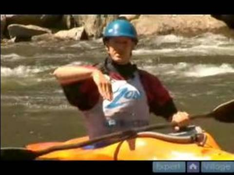 Advanced Kayaking Moves : How To Do Split Wheels In A Kayak