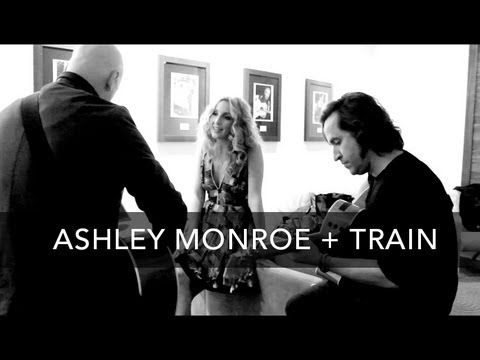 "Ashley Monroe and Train performing ""Like A Rose"""