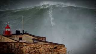 Nazare Portugal  city photo : 100ft World Record Wave, Garrett McNamara Surfing Nazare, Portugal