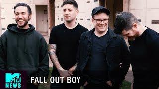 Video Fall Out Boy On Their New Album, M A N I A & Collabing Through WhatsApp | MTV News MP3, 3GP, MP4, WEBM, AVI, FLV April 2018