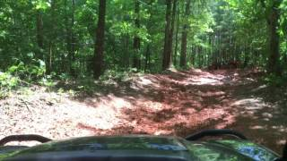 3. Kawasaki Mule Pro FXT in the Mud at Catfish Pond