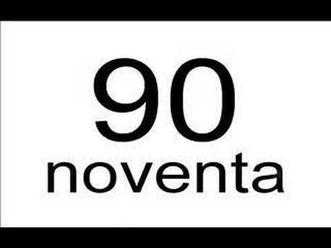 Vídeos Educativos.,Vídeos:Spanish numbers, 30 - 100