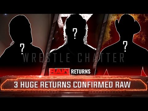3 Huge RETURNS CONFIRMED on Next RAW - WWE Raw 11 February 2019 Highlights Hindi Raw 2/11/19