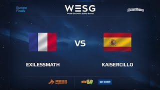 exilessmath vs Kaisercillo, game 1