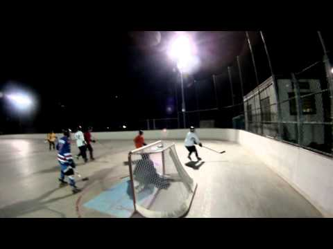 Evening Roller Hockey Match