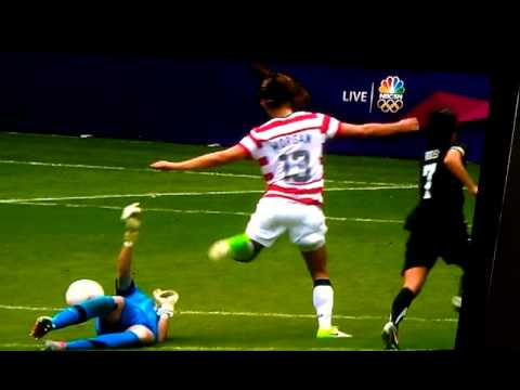 Jennie Lindon's Face Vs. Alex Morgan's Knee