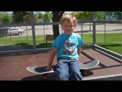 skateboard park - Mini-Muzza is back & just as cute as ever. He's growing up so fast. Check out the last Mini-Muzza video from when he was 3: http://www.youtube.com/watch?v=AZ...