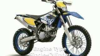 8. 2014 Husaberg FE 350 Features & Specs