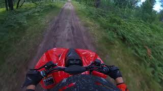 3. First ride on Can Am Renegade 570