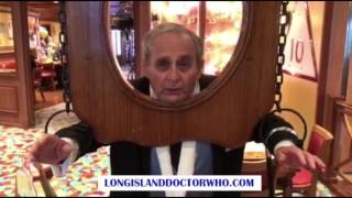 www.longislanddoctorwho.com Sylvester McCoy welcomes Jodie Whittaker to the Doctor Who family.