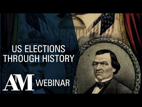 Webinar: U.S. Elections Through History Featuring Dr Michael Patrick Cullinane, University of Northumbria