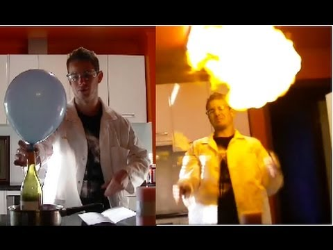 How to make hydrogen balloons