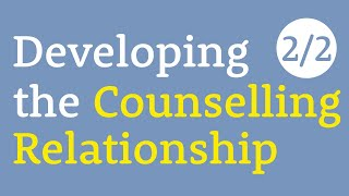Experiences of counselling