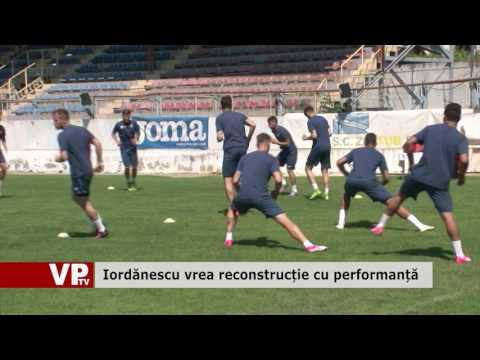Iordănescu vrea reconstrucție cu performanță