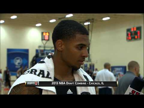 AT - Check out D-League standout Glen Rice Jr working out and speaking to the media at the 2013 Draft Combine! Catch all the Combine coverage on ESPNU/ESPN 2 Thur...