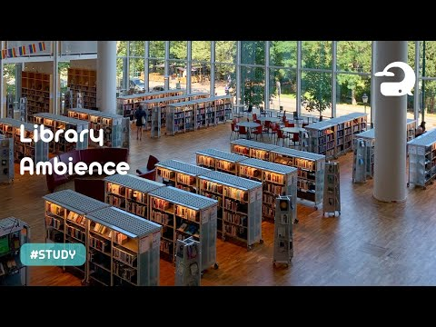 Library Ambience Sounds for Studying / Relaxing White Noise