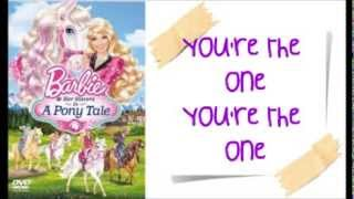 Nonton Barbie And Her Sisters In A Pony Tale   You Re The One W Lyrics Film Subtitle Indonesia Streaming Movie Download