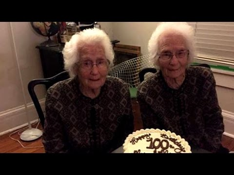 Inseparable Identical 100-Year-Old Twins Reveal How They Stay Sharp