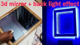 Download Video Make an LED illusion mirror 2.0! Latest + backlight effect MP3 3GP MP4
