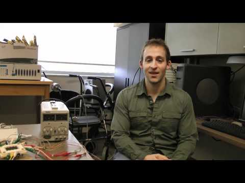 Watch Video: Biomedical Engineering master's student Graham Fraser