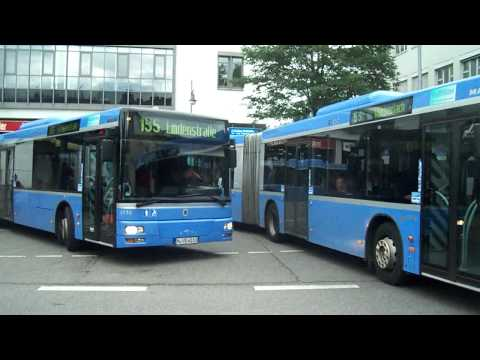 Buses in Munich, Germany...