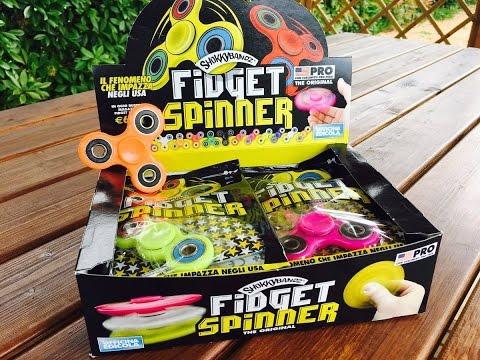 Fidget Spinner ShokkyBandz Blind Bags ita - Officina Edicola - L'antistress di moda su Youtube! (видео)