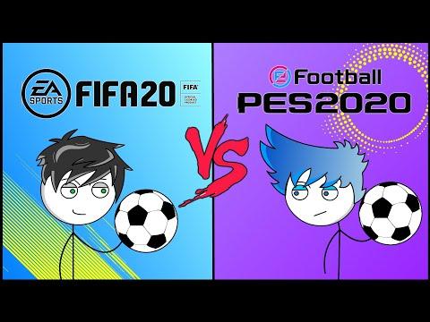 FIFA 20 GAMERS VS PES 20 GAMERS