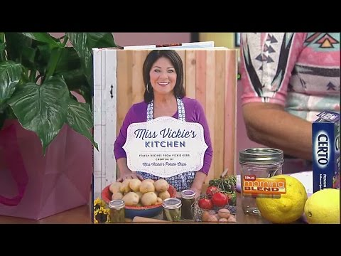 Vickie Kerr - author of Miss Vickie's Kitchen recipe book