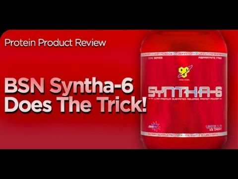 BSN Syntha 6 Protein Shake Review