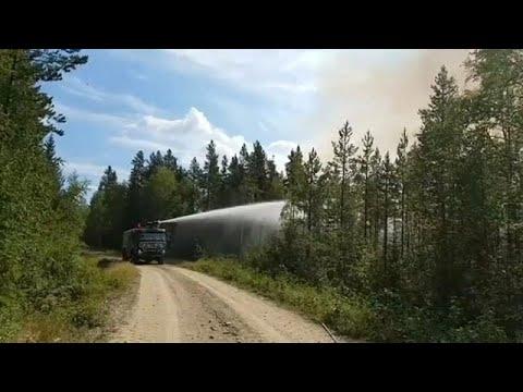 Ξηρασία και πυρκαγιές πλήττουν τη βόρεια Ευρώπη