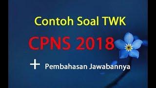 Download Video Contoh Soal TWK CPNS 2018 dan Jawabannya Pembahasan MP3 3GP MP4