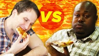 Drunk Vs. Stoned: Pizza Eating Challenge • The High Guys