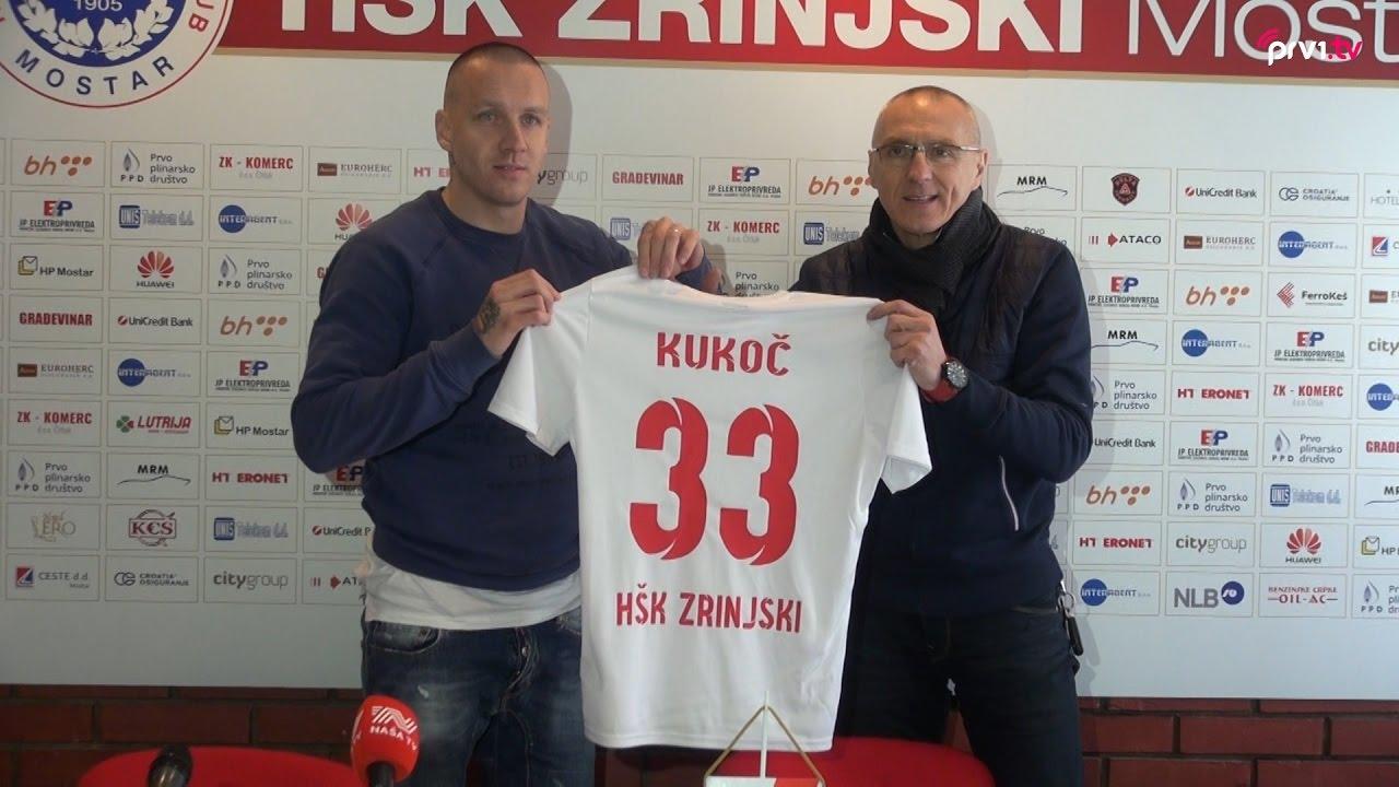 Tonći Kukoč:''Siguran sam da ću sa HŠK Zrinjski napisati velika djela''