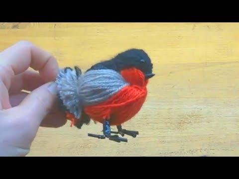 Из чего сделать птичек своими руками 105