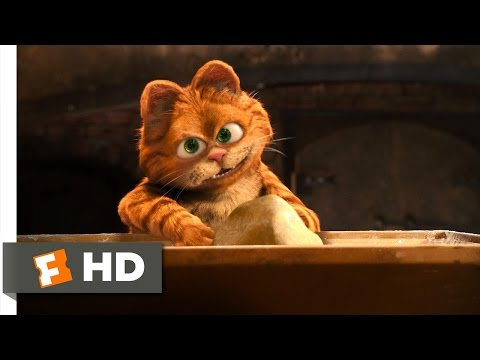 Garfield: A Tail Of Two Kitties (3/5) Movie CLIP - The Lasagna Dance (2006) HD
