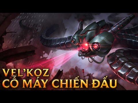 Vel'Koz Cỗ máy Chiến Đấu - Battlecast Vel'koz