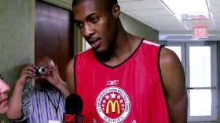Derrick Favors (Gerogia Tech) 2009 McDonald's All-American Interview