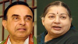 The Newshour  Debate: Jayalalithaa v/s Subramanian Swamy (3rd September 2014)