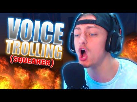 Voice Changer SQUEAKER Annoys Internet Tough Guys!