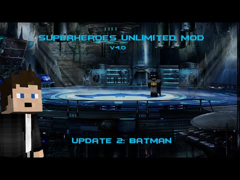 Superheroes Unlimited Mod V4.0: Update 2 (NEW BAT-GADGETS AND MORE!)