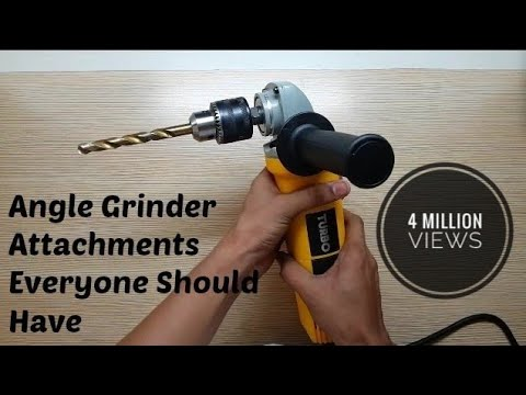 Angle Grinder Attachments You Gotta Have
