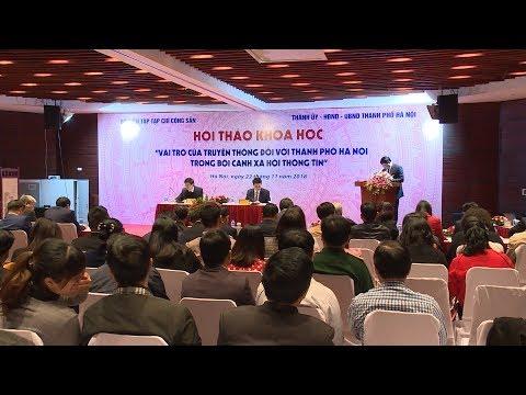Báo chí truyền thông góp phần quan trọng vào sự phát triển của Thủ đô Hà Nội