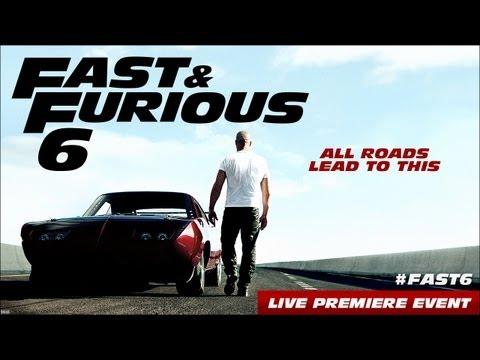 """حفل افتتاح فيلم """" Fast & Furious 6 """" بحضور فان ديزيل"""