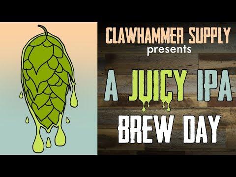 , title : 'Brewing Beer: Juicy IPA All Grain Homebrew Recipe'